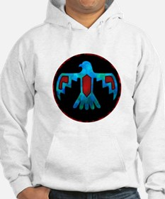 Red and Blue Thunderbird Hoodie
