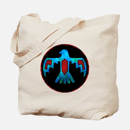 Red and Blue Thunderbird Tote Bag
