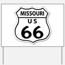 U.S. ROUTE 66 - MO Yard Sign