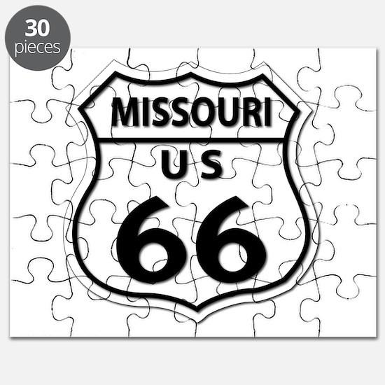 U.S. ROUTE 66 - MO Puzzle