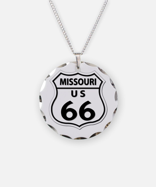 U.S. ROUTE 66 - MO Necklace