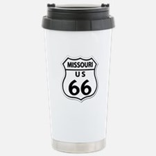 U.S. ROUTE 66 - MO Stainless Steel Travel Mug