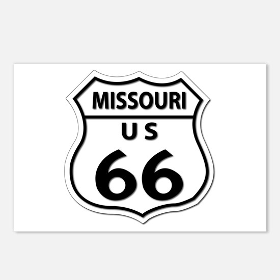 U.S. ROUTE 66 - MO Postcards (Package of 8)