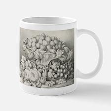 Fruit and flower piece - 1863 Mug