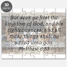Matthew 6:33 Puzzle