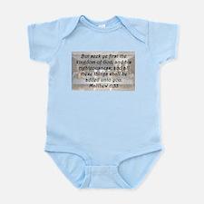 Matthew 6:33 Body Suit