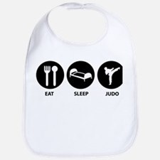 Eat Sleep Judo Bib
