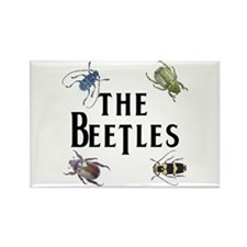 The Beetles Rectangle Magnet
