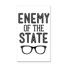 Enemy of the State Rectangle Car Magnet