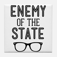 Enemy of the State Tile Coaster