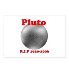 Pluto - Revolve in Peace Postcards (Package of 8)