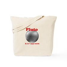 Pluto - Revolve in Peace Tote Bag