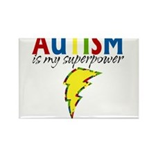 Autism is my Superpower Rectangle Magnet