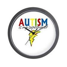 Autism is my Superpower Wall Clock
