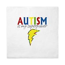 Autism is my Superpower Queen Duvet
