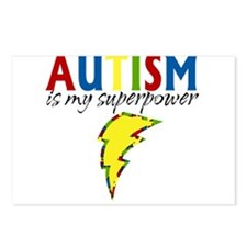Autism is my Superpower Postcards (Package of 8)