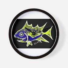 Retro Tuna 1 Art Wall Clock