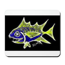 Retro Tuna 1 Art Mousepad
