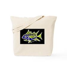 Retro Tuna 1 Art Tote Bag