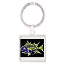 Retro Tuna 1 Art Keychains