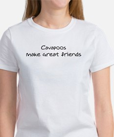 Cavapoos make friends Tee