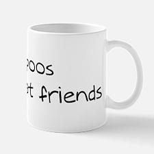 Cavapoos make friends Mug