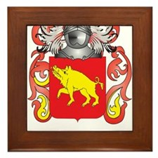 Baird Coat of Arms Framed Tile