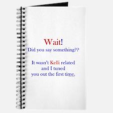 Say Something Kelli Journal
