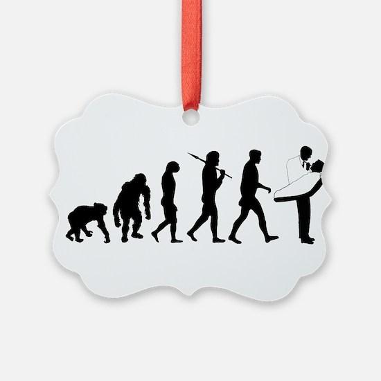 Dentist Evolution Ornament
