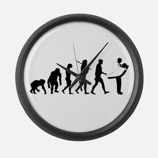 Dentist Evolution Large Wall Clock