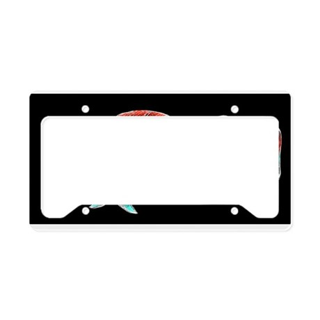 Whiting Retro Fish License Plate Holder