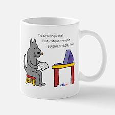 Great Pup Novel Mug