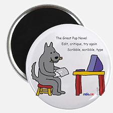Great Pup Novel Magnet