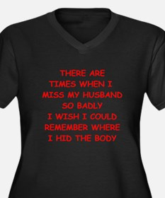 husband Plus Size T-Shirt