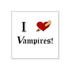 I Slay Vampires Sticker