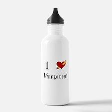 I Slay Vampires Water Bottle