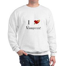 I Slay Vampires Sweatshirt