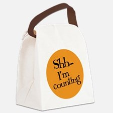 Knit Sassy - Shh... I'm Counting Canvas Lunch Bag