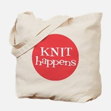Knit Sassy - Knit Happens Tote Bag