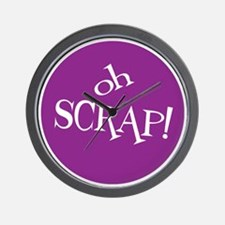 Sew Sassy - Oh Scrap! Wall Clock