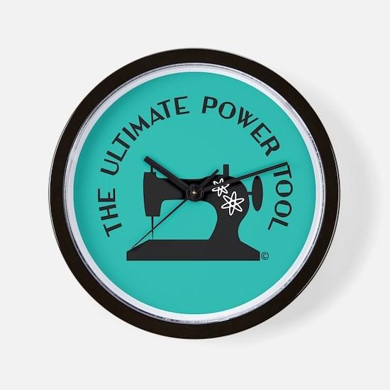 Sew Sassy - Ultimate Power Tool Wall Clock