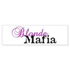 blondemafiamug Bumper Bumper Sticker