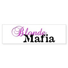 blondemafiamug Bumper Car Sticker
