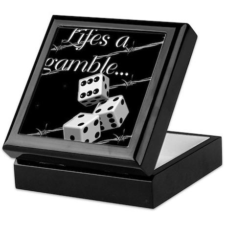 Life's a Gamble Keepsake Box