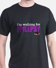 I'm walking for Epilepsy T-Shirt