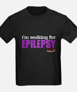 I'm walking for Epilepsy T