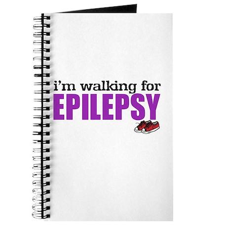 I'm walking for Epilepsy Journal