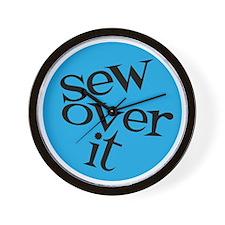 Sew Sassy - Sew Over It Wall Clock