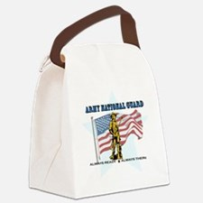 Army National Guard Canvas Lunch Bag