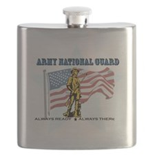 Army National Guard Flask